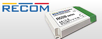 New RCOB LED Driver Series From Recom